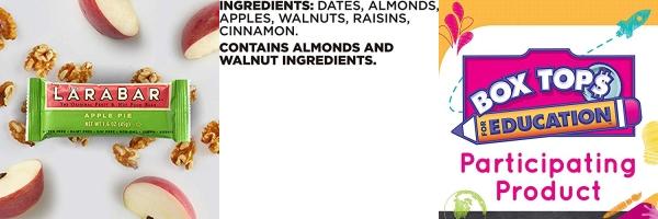 Purchase LARABAR, Fruit & Nut Bar, Apple Pie, Gluten Free, Vegan, Whole 30 Compliant, 1.6 oz Bars (10 Count) on Amazon.com