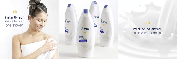 Purchase Dove Body Wash, Deep Moisture, 22 oz, 4 count on Amazon.com