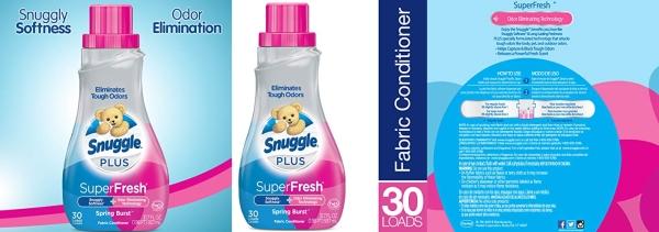 Purchase Snuggle Plus Super Fresh Liquid Fabric Softener, Spring Burst, 31.7 Fluid Ounce on Amazon.com