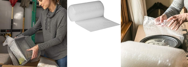 Purchase Duck Brand Bubble Wrap Original Protective Packaging, 12 Inches Wide x 30-Feet Long on Amazon.com