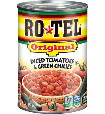Purchase Ro-Tel Diced Tomatoes & Green Chilies, 10 Oz at Amazon.com