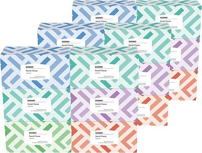 Purchase Amazon Brand - Solimo Facial Tissues (18 Flat Boxes), 160 Tissues per Box (2880 Tissues Total) at Amazon.com
