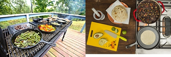 Purchase Lodge Pre-Seasoned Cast Iron Griddle With Easy-Grip Handle, 10.5 Inch, Black on Amazon.com