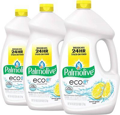 Purchase Palmolive Eco Dishwasher Detergent Gel, Lemon Splash - 45 ounce (3 Pack) at Amazon.com