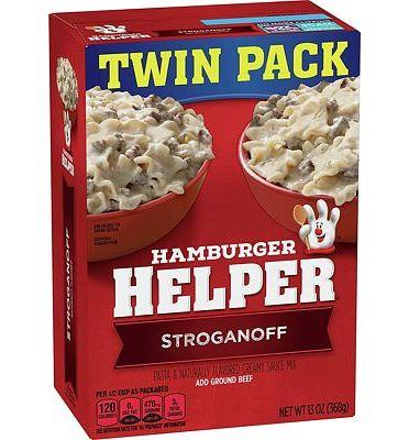 Purchase Hamburger Helper, Stroganoff Pasta and Creamy Sauce Mix, 13 oz at Amazon.com