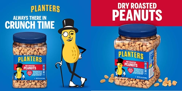 Purchase Planters Dry Roasted Peanuts (34.5oz, Pack of 3) on Amazon.com