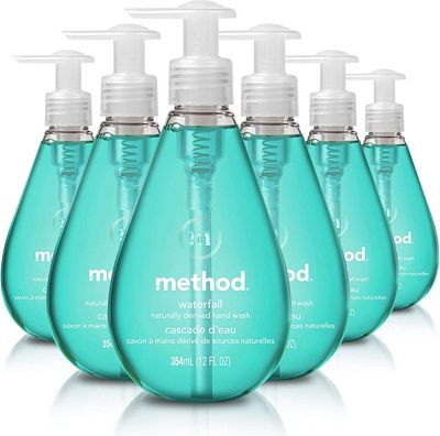 Purchase Method Gel Hand Soap, Waterfall, 12 Fl Oz (Pack of 6) at Amazon.com