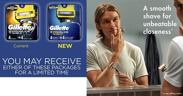 Purchase Gillette Fusion5 ProShield Men's Razor Blades, 4 Count on Amazon.com