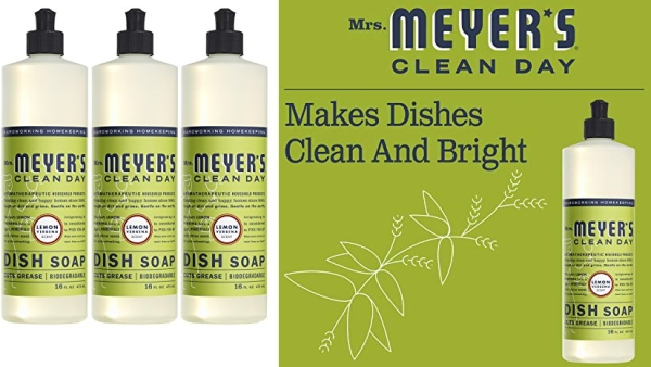 Purchase MRS Meyers Liquid Dish Soap, Lemon Verbena, 16 Fluid Ounce (Pack of 3) on Amazon.com