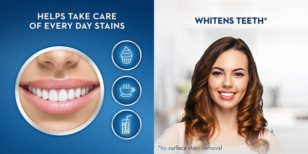 Purchase Crest 3D White Stain Eraser Whitening Toothpaste, Fresh Mint, 2 Count on Amazon.com