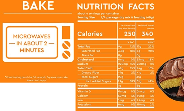Purchase Duncan Hines Easy Cake Kit Golden Fudge Cake Mix, 8.4 OZ on Amazon.com