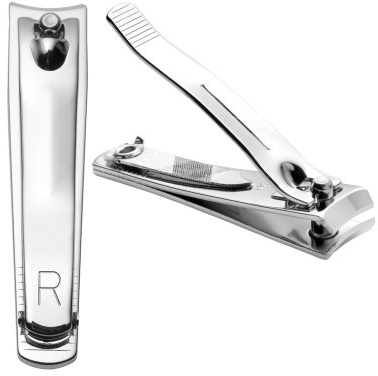 Purchase Revlon Nail Clipper, Compact Mini Nail Cutter with Curved Blades for Trimming and Grooming on Amazon.com