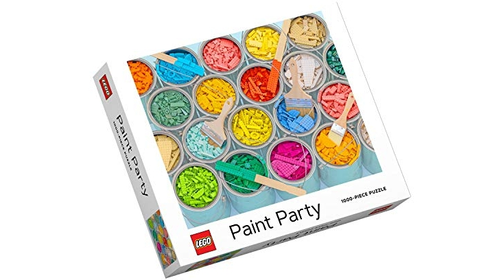 Purchase LEGO Paint Party Puzzle at Amazon.com