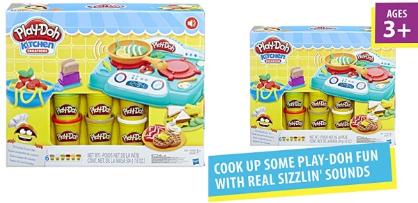 Purchase Play-Doh Kitchen Creations Stovetop Super Set (Amazon Exclusive) on Amazon.com