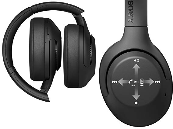 Purchase Sony Noise Cancelling Headphones, Wireless Bluetooth Over the Ear Headset with Mic for Phone-Call and Alexa Voice Control on Amazon.com