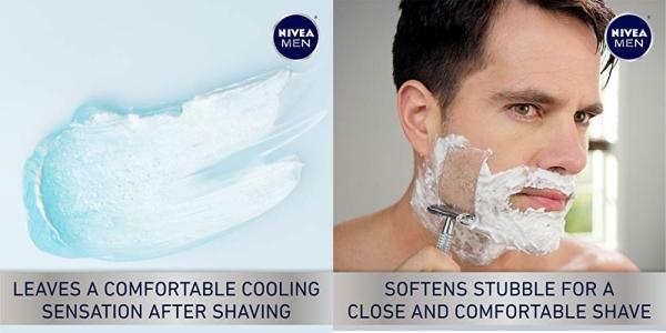 Purchase NIVEA Men Sensitive Cooling Shaving Gel - Gentle Cooling Sensation while Shaving - 7 oz. Can (Pack of 3) on Amazon.com