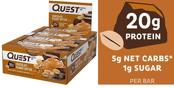 Purchase Quest Nutrition- High Protein, Low Carb, Gluten Free, Keto Friendly, 12 Count on Amazon.com