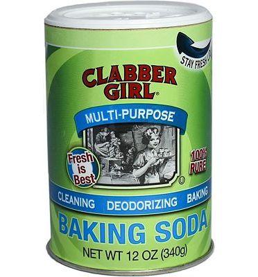 Purchase Clabber Girl Baking Soda, 12 Ounce at Amazon.com