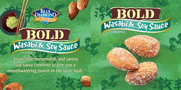 Purchase Blue Diamond Almonds, Bold Wasabi & Soy Sauce, 16 Ounce on Amazon.com