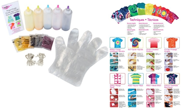 Purchase Tulip One-Step 5 Color Tie-Dye Kits Ultimate, 1.5oz on Amazon.com