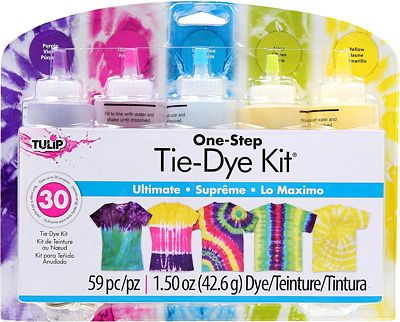 Purchase Tulip One-Step 5 Color Tie-Dye Kits Ultimate, 1.5oz at Amazon.com