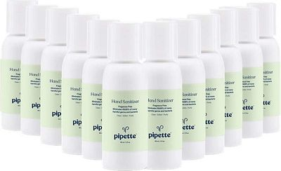 Purchase Pipette Hand Sanitizer No Rinse Plant-Derived with 100% Squalane, Travel Size 2oz, 12-pack at Amazon.com