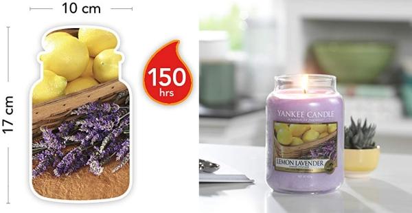 Purchase Yankee Candle Large Jar Candle Lemon Lavender on Amazon.com