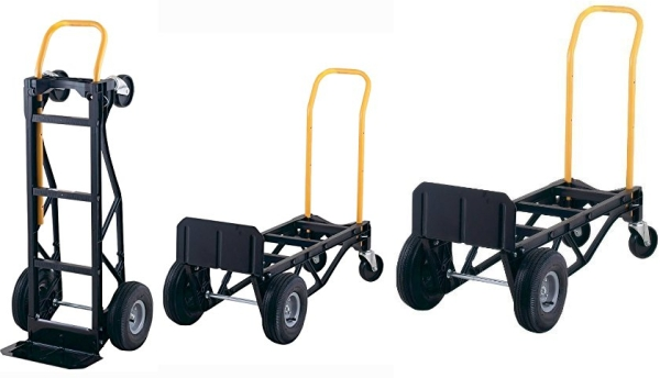 Purchase Harper Trucks 700 lb Capacity Glass Filled Nylon Convertible Hand Truck and Dolly on Amazon.com