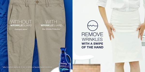 Purchase Downy Wrinkleguard Liquid Fabric Conditioner (Fabric Softener), Fresh Scent, 48 Oz Bottles, 2 Pack, Wrinkle Guard Bottles on Amazon.com