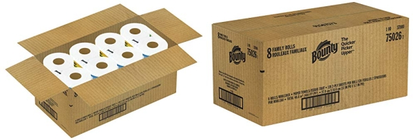 Purchase Bounty Quick-Size Paper Towels, 8 Family Rolls = 20 Regular Rolls on Amazon.com