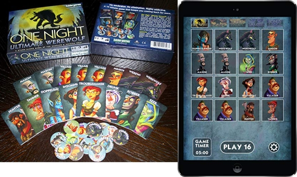 Purchase Bezier Games One Night Ultimate Werewolf on Amazon.com