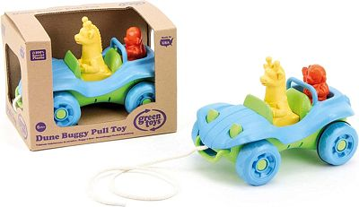 Purchase Green Toys Dune Buggy Pull Toy Blue at Amazon.com