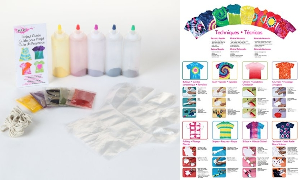 Purchase Tulip One-Step 5 Color Tie-Dye Kits Rainbow, 1.62oz on Amazon.com