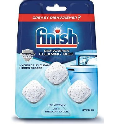 Purchase Finish In-Wash Dishwasher Cleaner: Clean Hidden Grease and Grime, 3 ct at Amazon.com