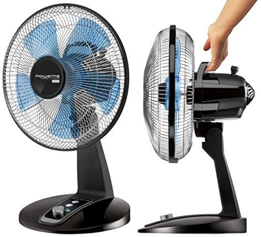 Purchase Rowenta VU2631 Turbo Silence Table Fan, Portable Fan, 4 Speed Fan with User Friendly Turn Dial on Amazon.com