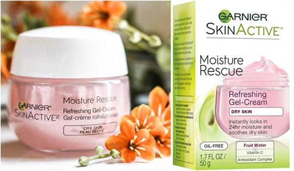 Purchase Garnier SkinActive Moisture Rescue Refreshing Gel-Cream for Dry Skin, 1.7 Ounces on Amazon.com