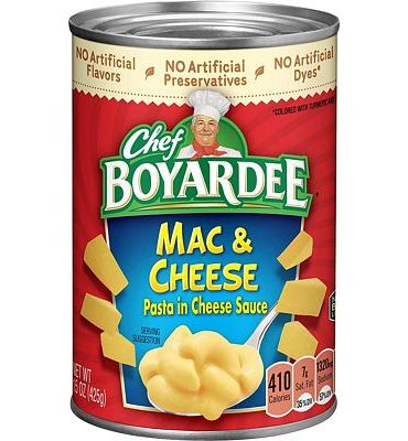 Purchase Chef Boyardee Macaroni and Cheese, 15 Ounce at Amazon.com