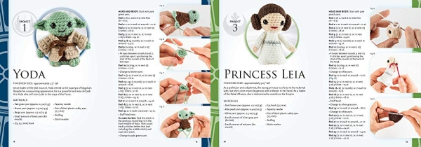 Purchase Crochet Star Wars Characters (Crochet Kits) on Amazon.com