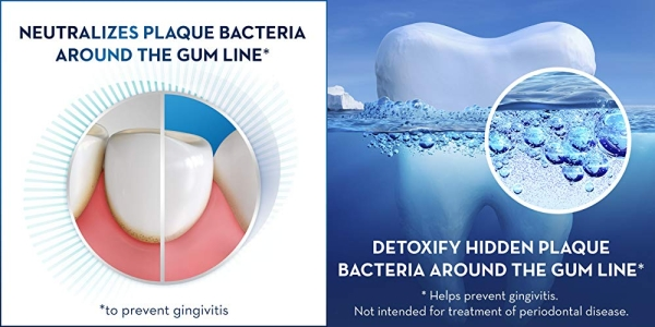 Purchase Crest Toothpaste Gum Detoxify Deep Clean, 4.1oz (Pack of 3) on Amazon.com