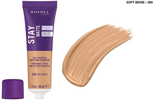 Purchase Rimmel Stay Matte Foundation Soft Beige 1 Fluid Ounce on Amazon.com