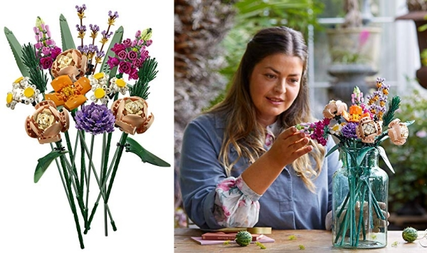 Purchase LEGO Flower Bouquet 10280 Building Kit; A Unique Flower Bouquet and Creative Project for Adults, New 2021 (756 Pieces) on Amazon.com