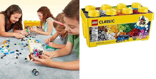 Purchase LEGO Classic Medium Creative Brick Box 10696 Building Toys for Creative Play; Kids Creative Kit (484 Pieces) on Amazon.com