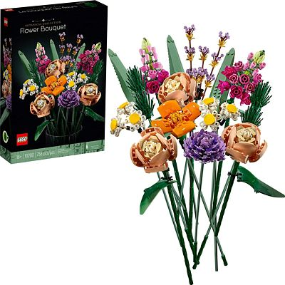 Purchase LEGO Flower Bouquet 10280 Building Kit; A Unique Flower Bouquet and Creative Project for Adults, New 2021 (756 Pieces) at Amazon.com