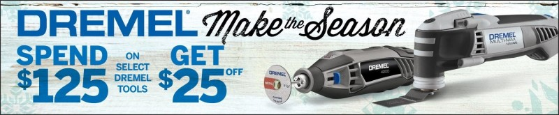 Dremel Holiday Promotions