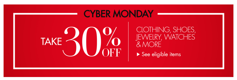 *HOT* Amazon Cyber Monday: Extra 30% Off Select Clothing, Shoes & More for the Family!
