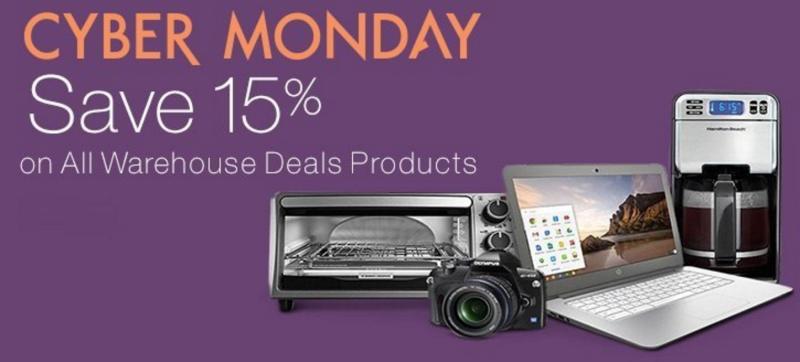 Amazon Cyber Monday: Warehouse Deals