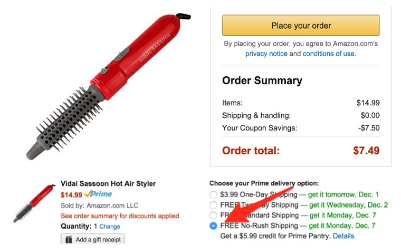 *HOT* Amazon Cyber Monday: Vidal Sassoon Hot Air Styler -- $7.49 (reg. $14.99), BEST Price!