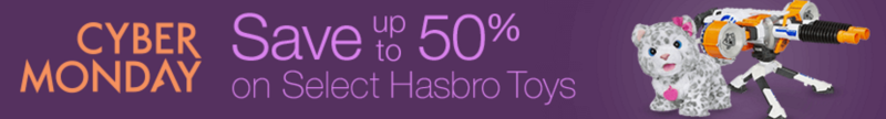 Amazon Cyber Monday: Up to 50% off Select Hasbro Toys!
