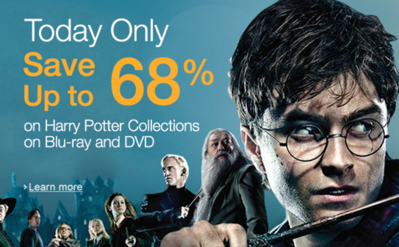 "Amazon Cyber Monday: Up to 68% Off Select ""Harry Potter"" Collections!"