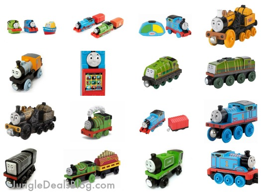 *HOT* Spend $20 or more on select Thomas the Train toys, get a free Thomas Bath Squirter!